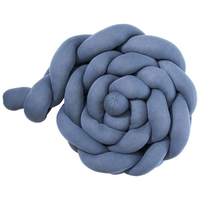 Baby Bettschlange Blau Riesen Zopf