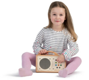 Kinder MP3 Player Holz