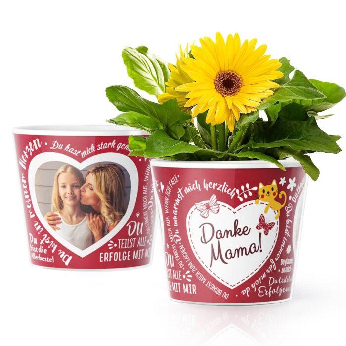 Muttertag Geschenk Garten Blumentopf