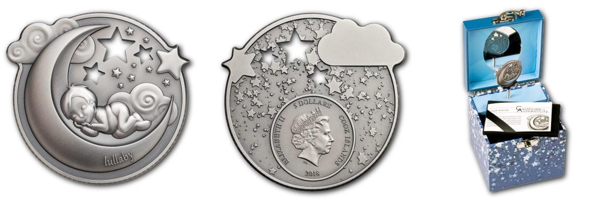 Taufe Geburt Silber Geschenk Münzen
