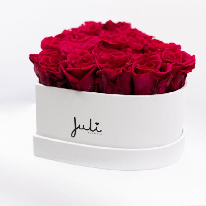 Rosen die nicht verwelken Geschenkbox