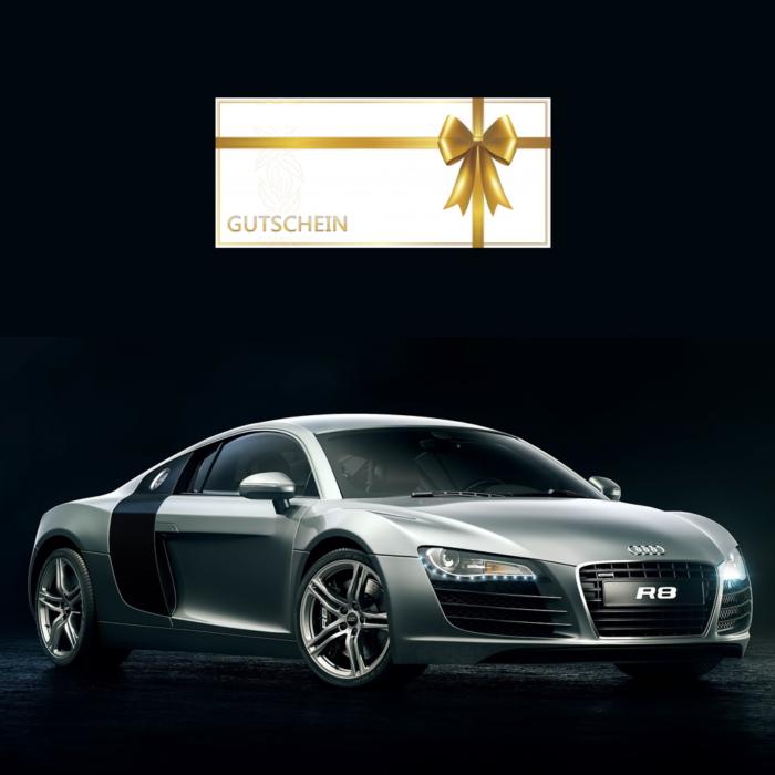 Traumauto Audi R8 Fahren Geschenk Gutschein