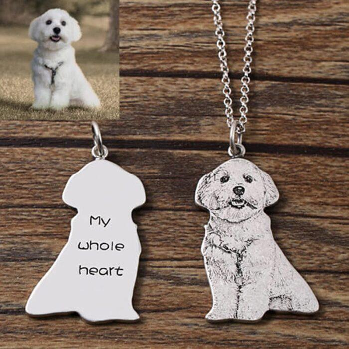 Hund Erinnerung Halskette kaufen