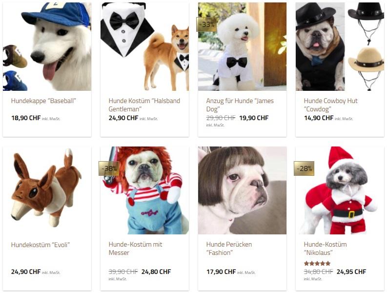 lustige Hunde Kostüme